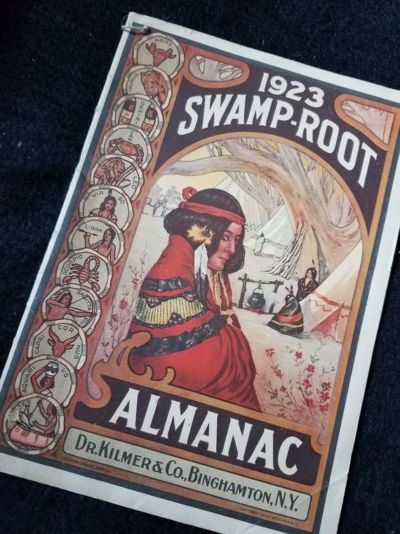 Almanac/Swamp Root/1923/Advertisment/Kilmer