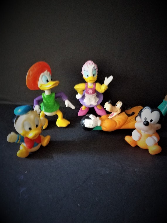 Set of 5 Rubber Disney Toys