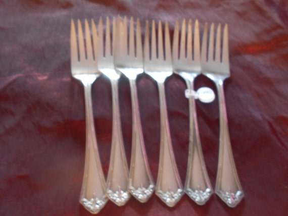 Oneida Community Reliance Silver Plate Salad Forks