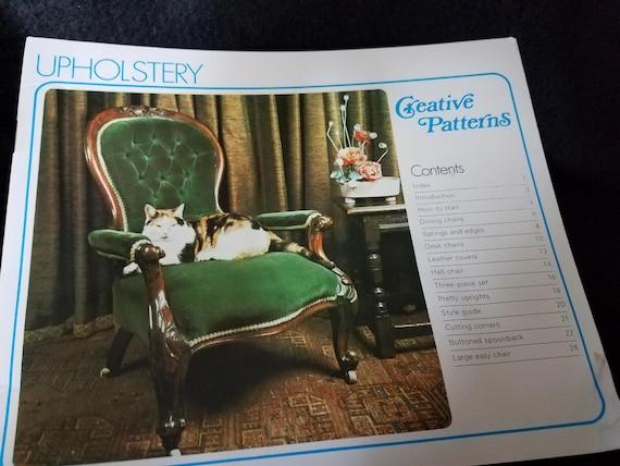 Creative Patterns/Upholstry/Book/Vintage