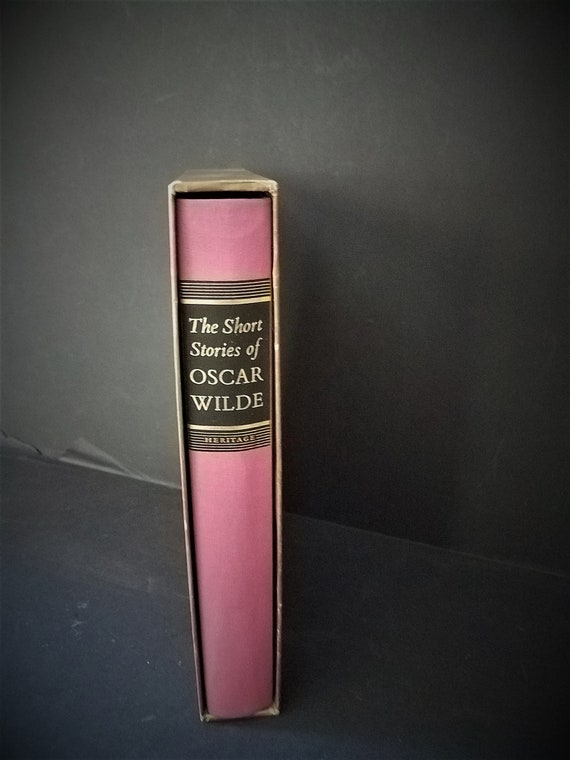 1968 Heritage Press The Short Stories of Oscar Wilde