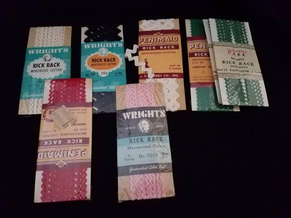 Bundled/Vintage/Rickrack