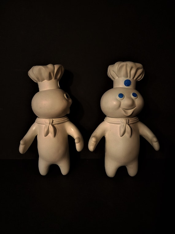 Set of 2 Pillsbury Dough Boys 1971