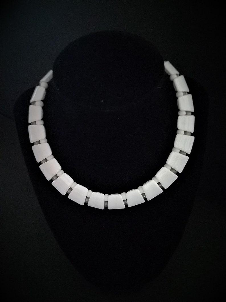 White Vintage Necklace
