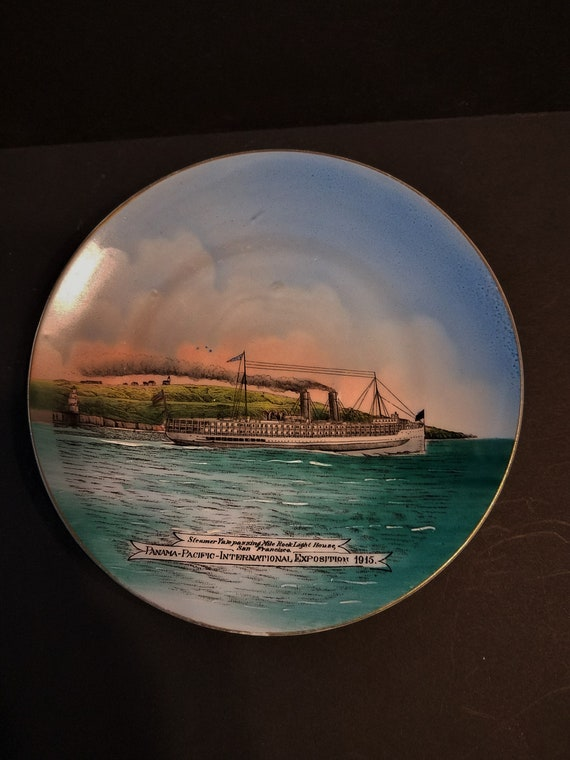 Pan Pacific International Expo 1915 Souvenir Plate