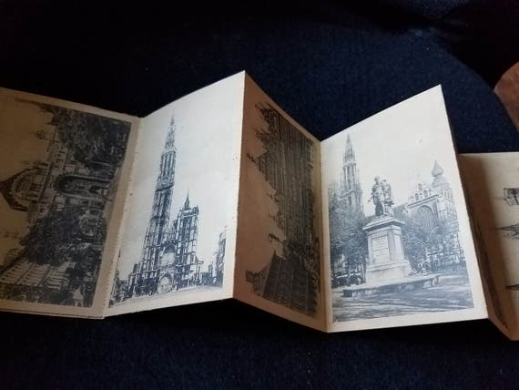 Postcards/Vintage/Belgium/Antwerp/Set of 10