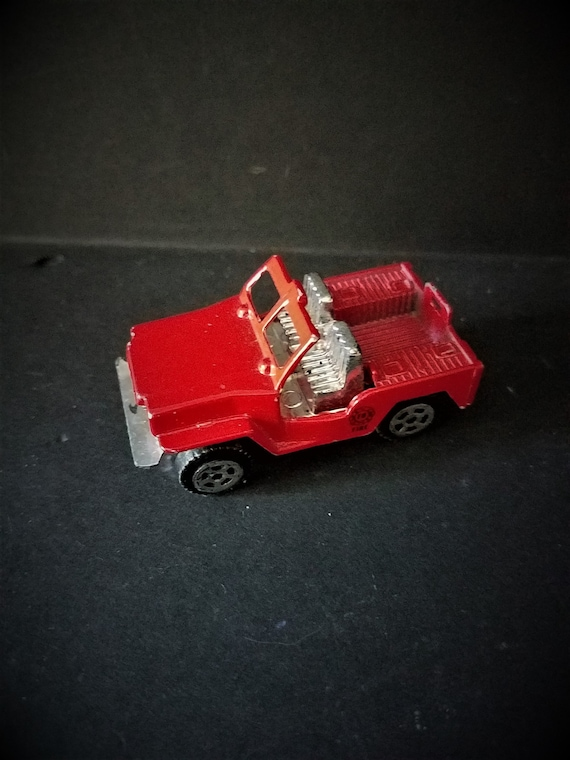Metal Jeep Toy