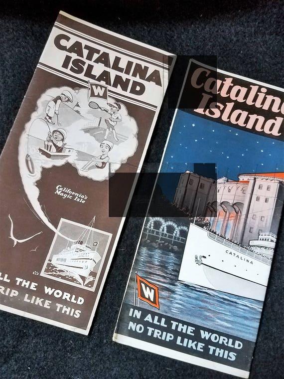 Catalina Island/Travel/Brochures/1929/1930/California