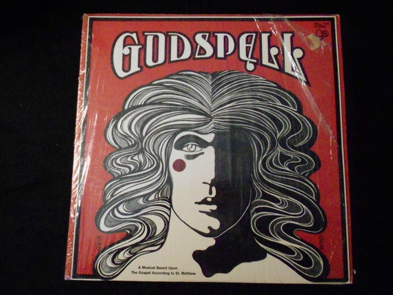 Record Album/Godspell/ Music/ Vintage