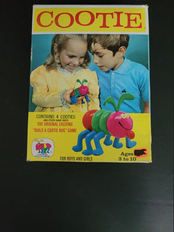 1972 Cootie Game