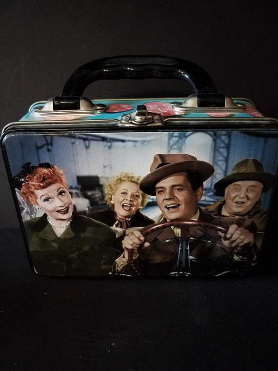 I Love Lucy Metal Lunch Box