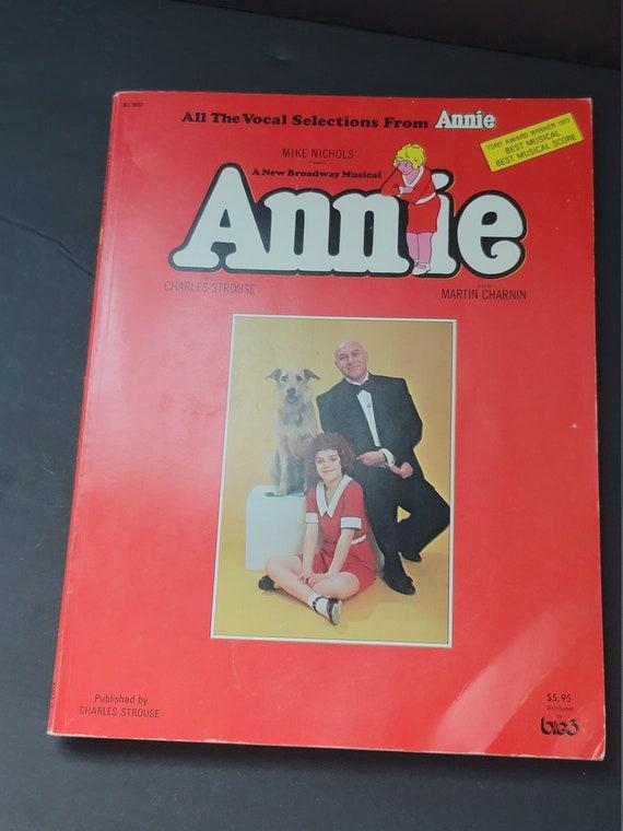 Annie Broadway Musical Songbook