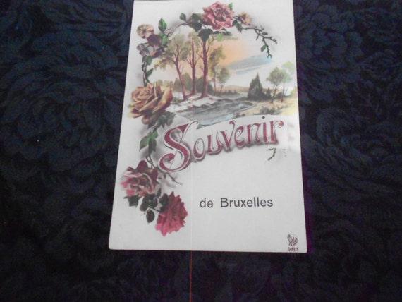 Vintage Postcard from Belgium