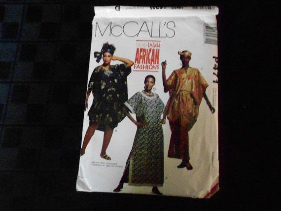 McCalls Emeaba African Fashions Pattern