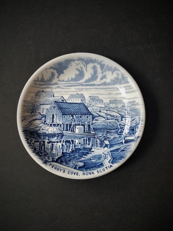 Wood & Sons Peggy's Cove Nova Scotia Mini Plate