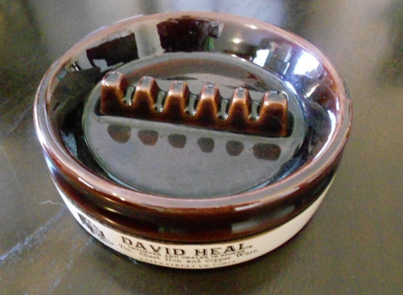 Abernakis Pottery/Mid Century/Advertising/Ashtray