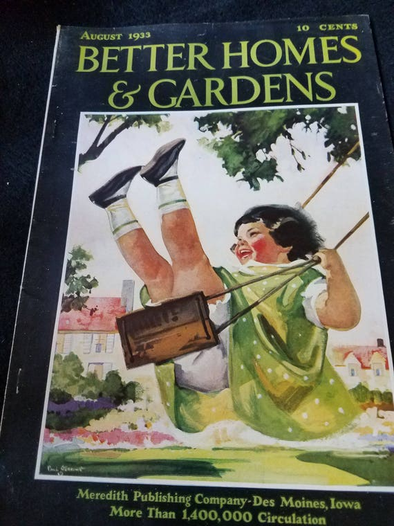 1933 Better Homes & Gardens Magazine