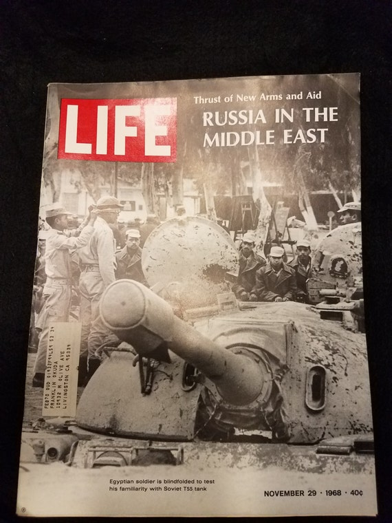 Life Magazine/Russia in the Middle East/ November 1968
