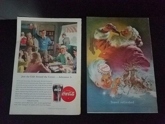 Coca-Cola Ads late 1940s