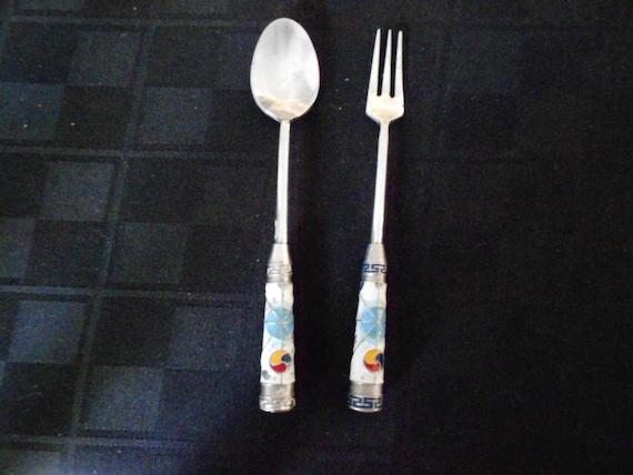 Childs Spoon & Fork Seoul Korea