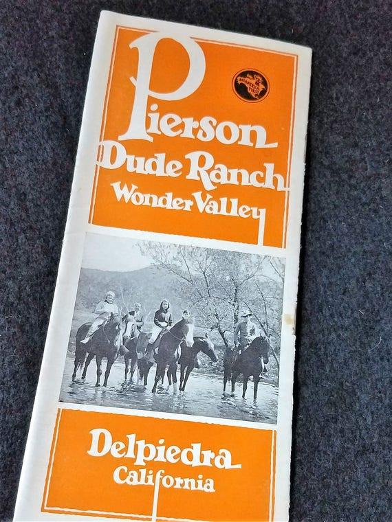 Travel/Brochure/Wonder Valley/Dude Ranch/California