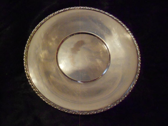 Wm A Rogers Berwick Silver Plate Plate