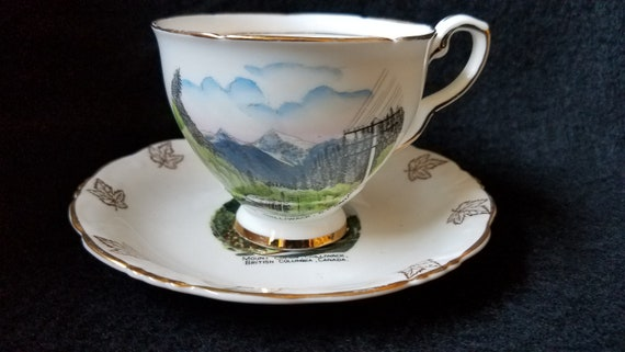 Royal Stafford/ Canadian/ Souvenir/ Cup and Saucer