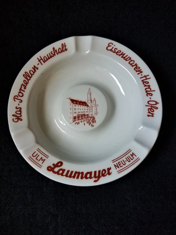 Vintage Ashtray Neu-Ulm Bavaria