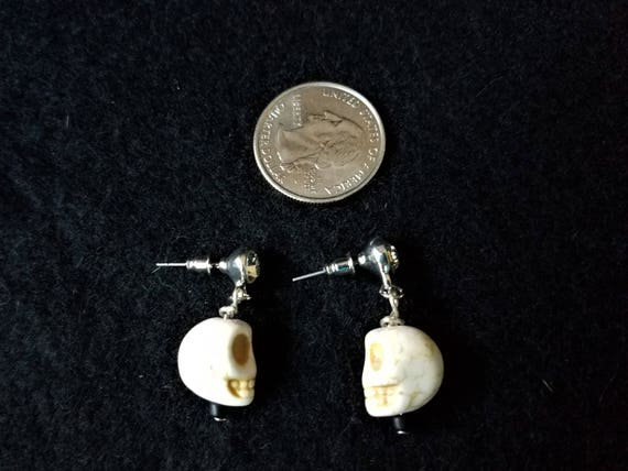 Skull Earrings & Bracelet