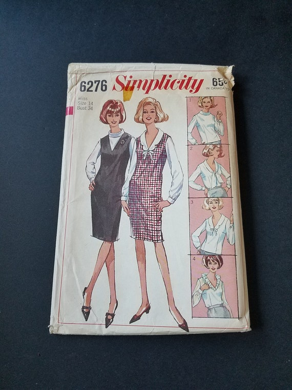 1965 Simplicity Pattern Womens