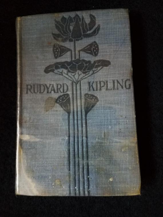 1899 Rudyard Kipling In Black and White Book