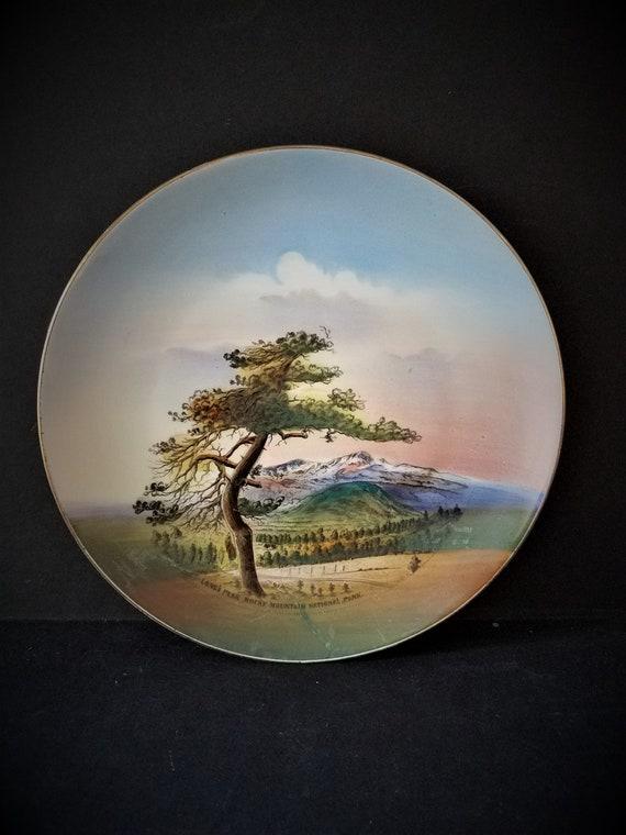 Rocky Mountain National Park Souvenir Plate