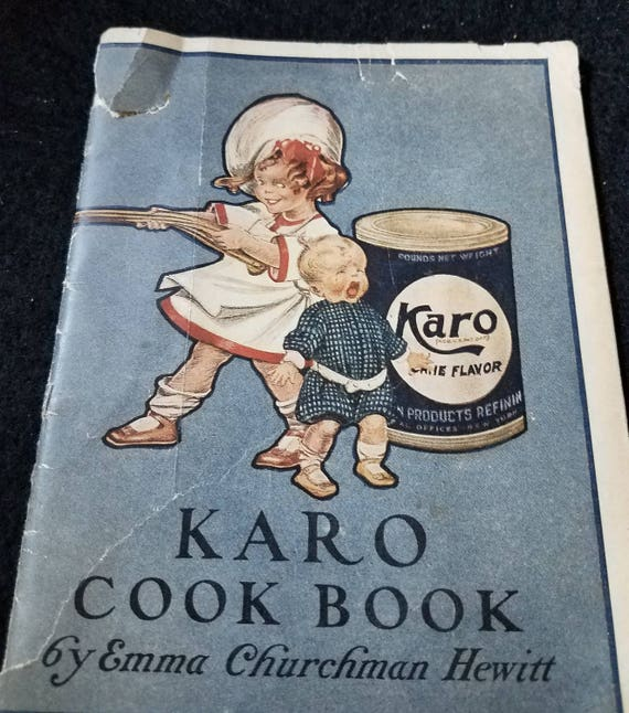 Karo/Cookbook/1919/booklet/Rare one
