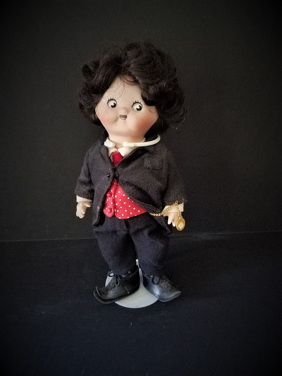 Campbells Soup Kid Charlie Chaplin Collector Doll