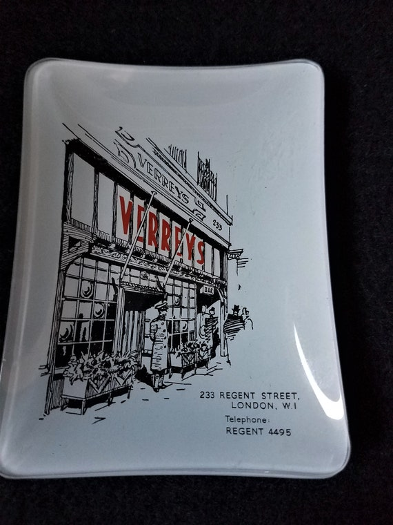 Vintage Verrey's Trinket Dish London