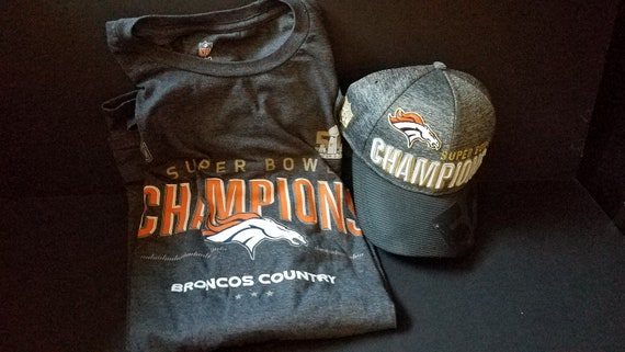 Super Bowl 50 Bronco Champ Shirt & Hat