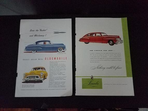 1940s Car Ads
