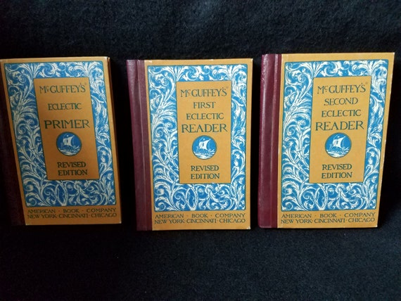 McGuffy's Eclectic Reader Set 1909 Reproductions