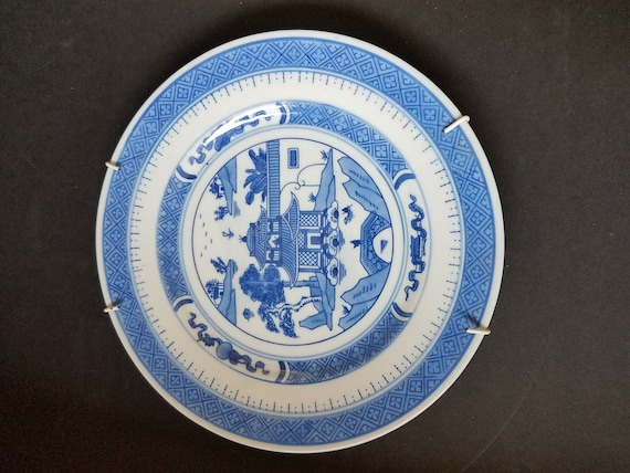 Chinese Blue Plate