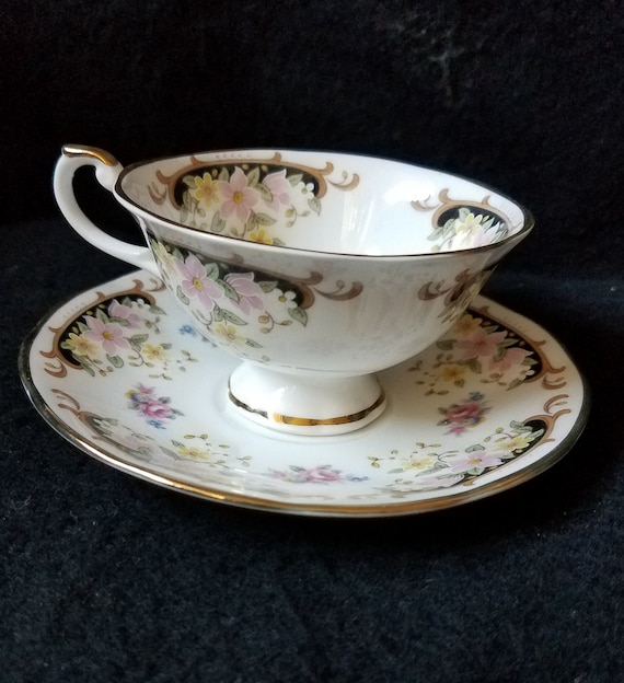 Royal Castle Fine Bone China Teacup and Saucer