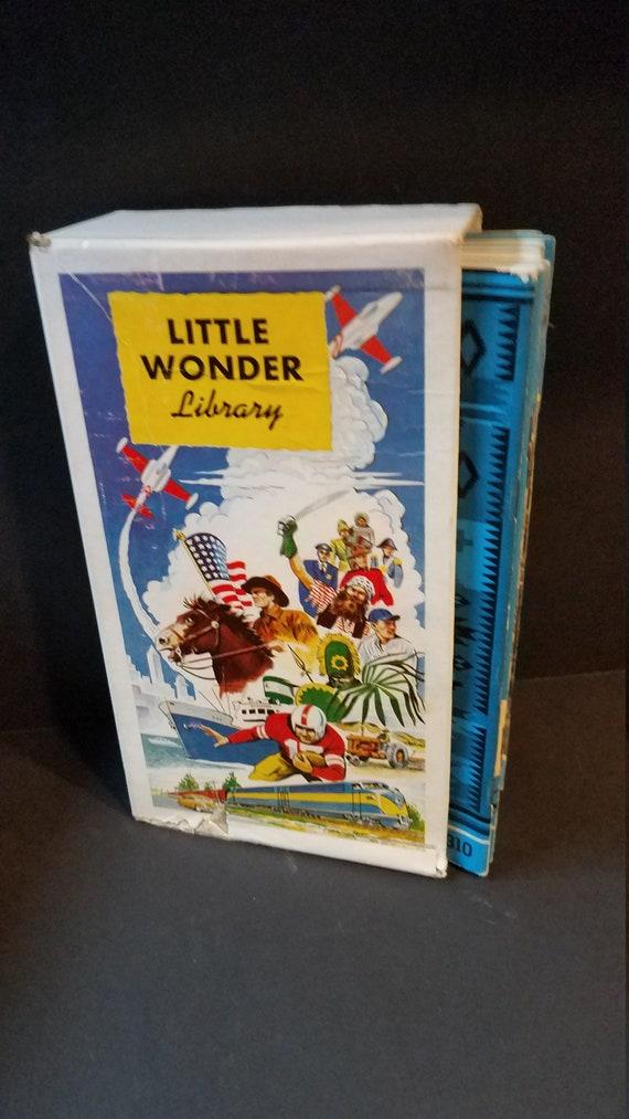1950 Little Wonder Library of 20 Books Merrill Books