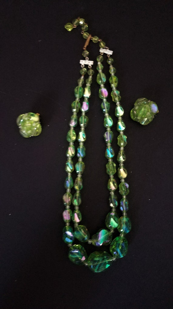 1950s Earring and Necklace Set