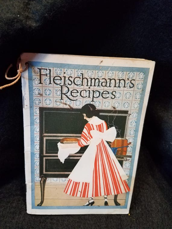 1916 Fleischman's Recipe Booklet