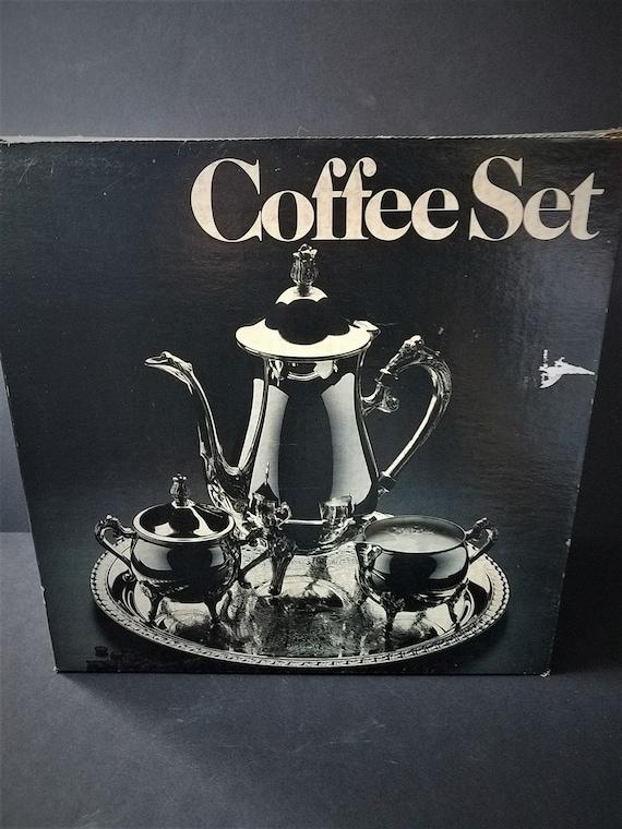 Leonard Silverplate Coffee Set
