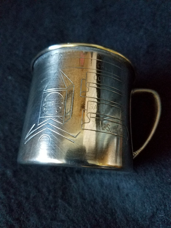 Oneida Silver Baby Cup 1970s