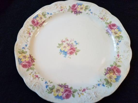 Homer Laughlin Chelsea Bread Plate