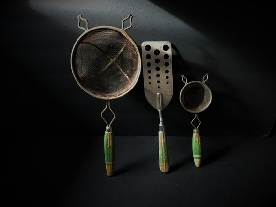 Set of 3 1930s Kitchen Gadgets