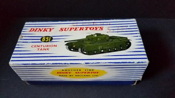 Dinky Centurion Tank 651 c 1960s