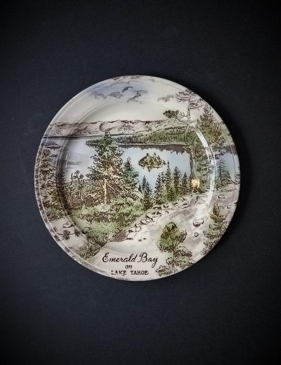 Vernon Kiln Lake Tahoe Emerald Bay Plate