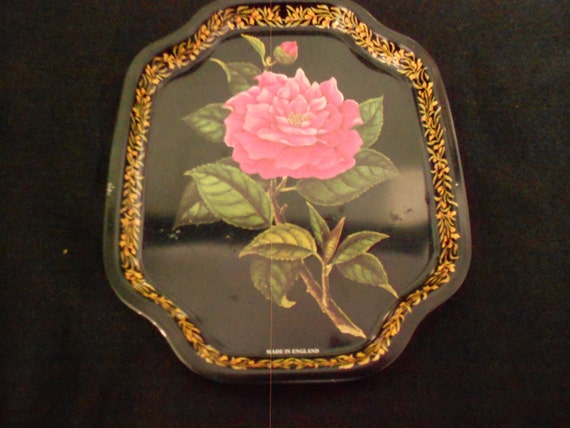 Pair of English Vintage Tin Trays